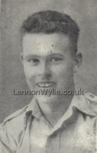 Gunner Robert Cairns, Royal Artillery, son of Mr. and Mrs. J. Cairns, Society Street, Coleraine, prisoner of war in Italy - DAYB19b