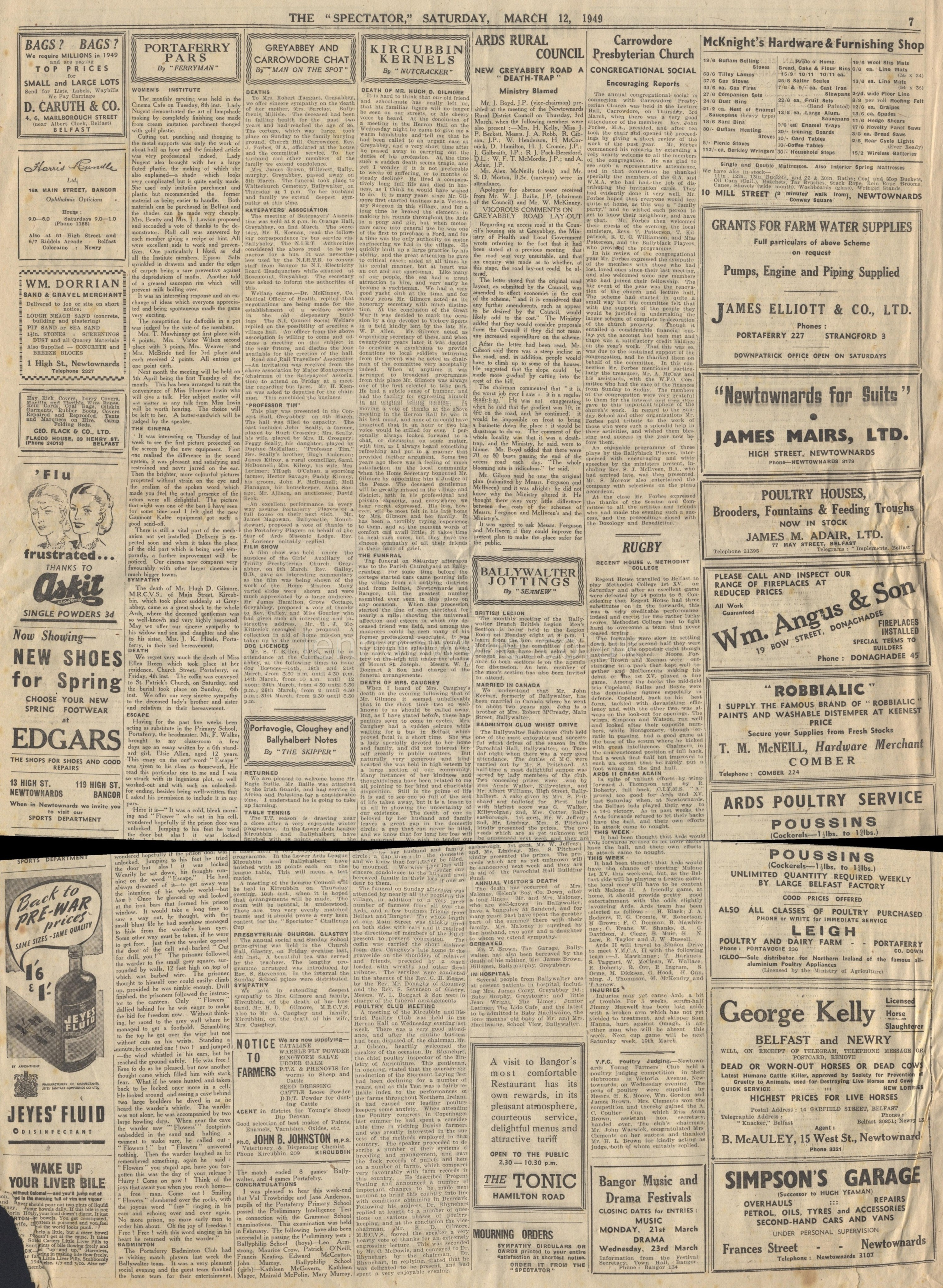 Old Newspaper Clippings 1